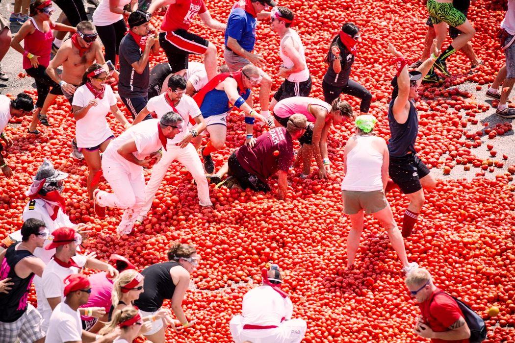 a unusual food festival