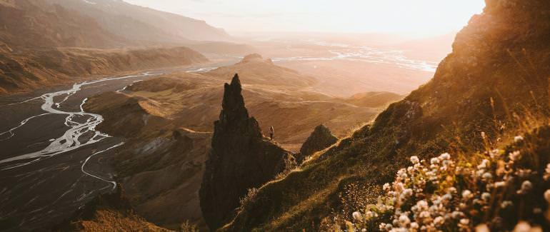 Весна в Исландии